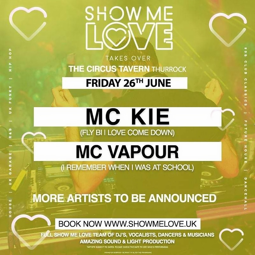 Show Me Love Club Night 2020