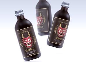 龍泉金鑽 健康麥汁  |  包裝設計