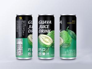 巧口芭樂汁     包裝設計