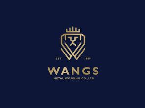 WANGS 王室金屬     品牌識別設計
