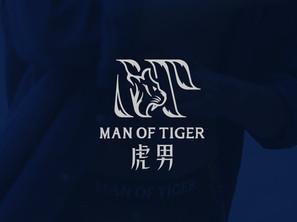 虎男 MAN OF TAIGER     品牌識別設計