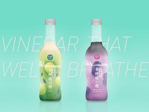會呼吸の醋  | 包裝設計