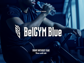 BelGYM Blue     品牌識別設計