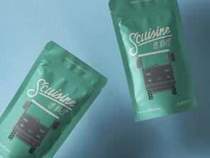 思料理 SCUISINE     品牌識別設計