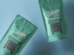 思料理 SCUISINE  |  品牌識別設計
