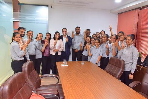 Monkey Academy Digital Marketing Training for Vastu Dairy.JPG
