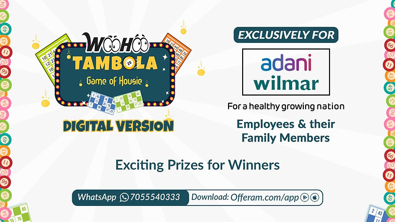 WooHoo Tambola for HR activation and audience engagement