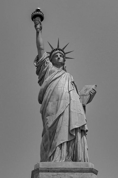 Statue of Liberty B&W