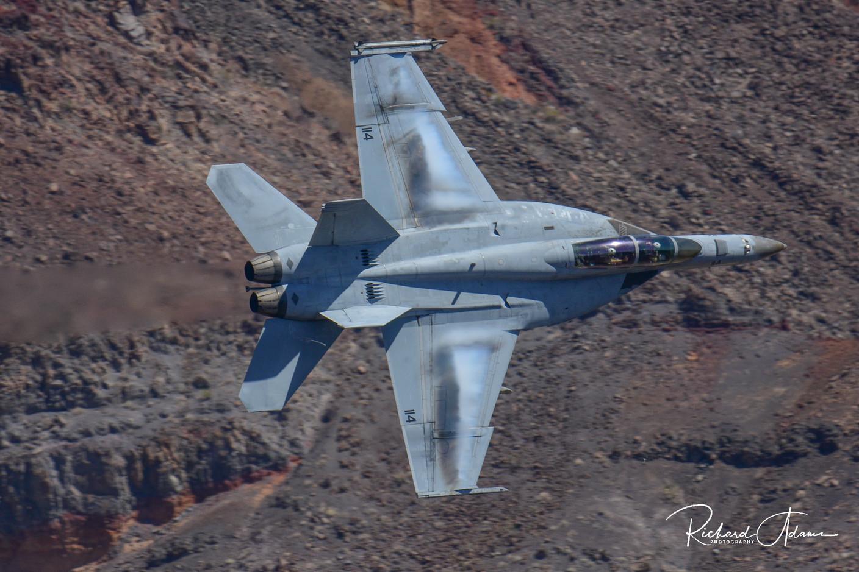 F-18 through the Canyon 2