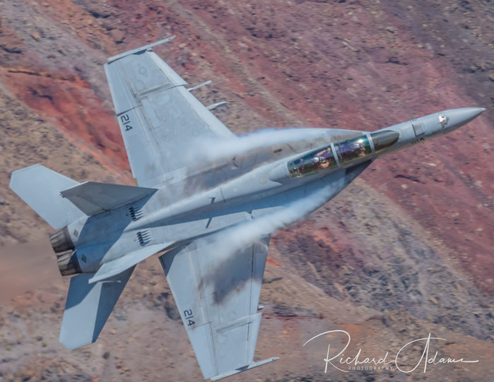 F-18 through the Canyon