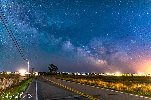 Coastal Maine Milky Way