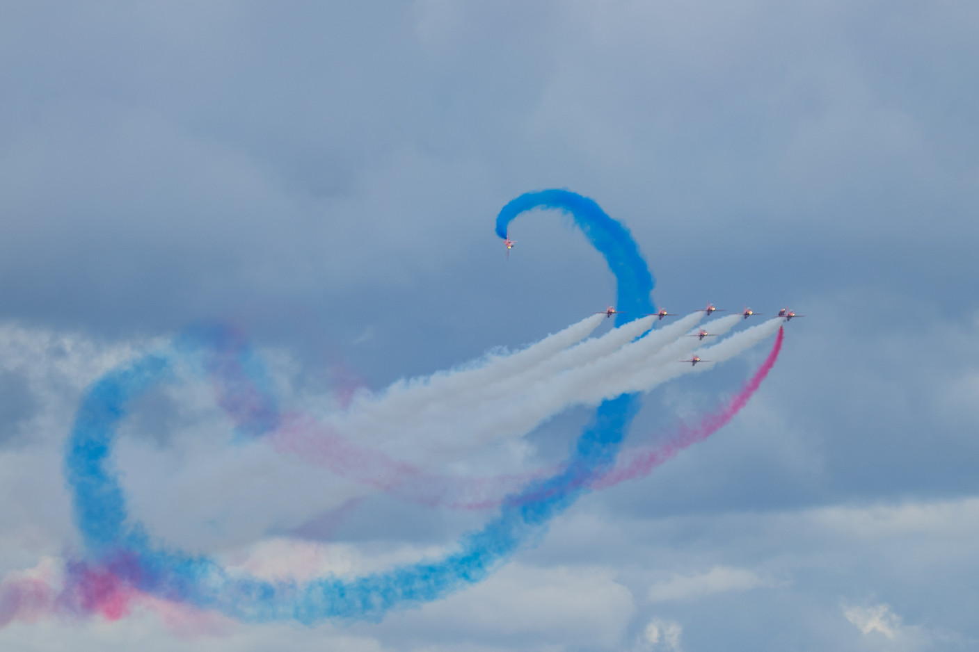 Red Arrows Spiral