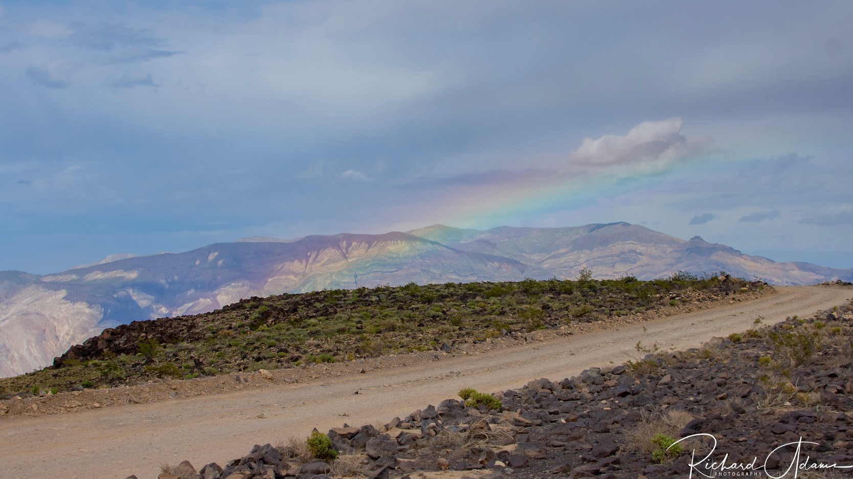 Rainbow through Rainbow Canyon (Star Wars Canyon)