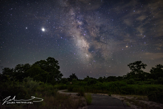Rhode Island Milky Way