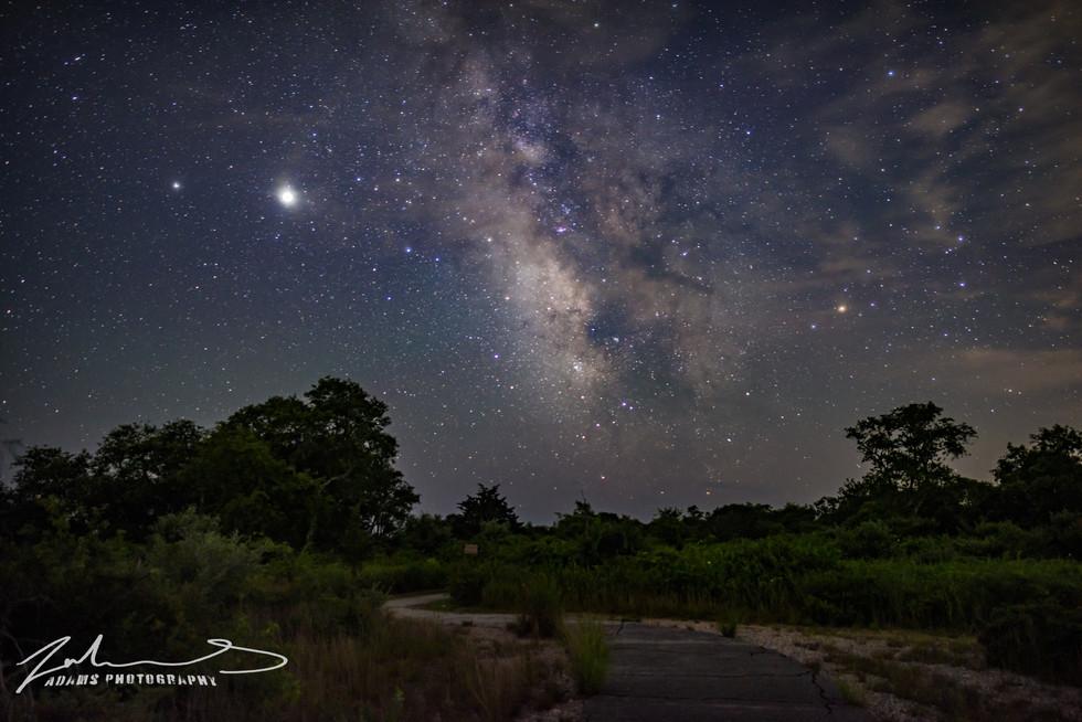 Rhode Island Milky Way