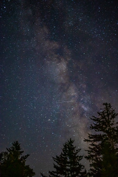 Smokey Mountains Milky Way