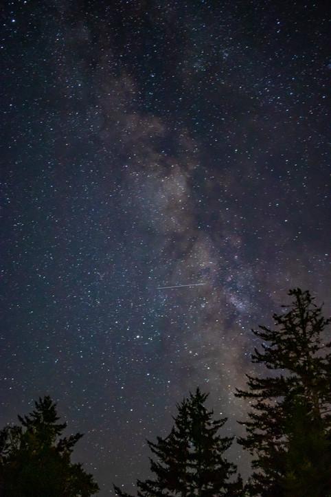 Smokey Mountains Milky Way