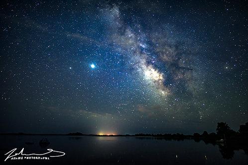 Rhode Island Milky Way Landscape