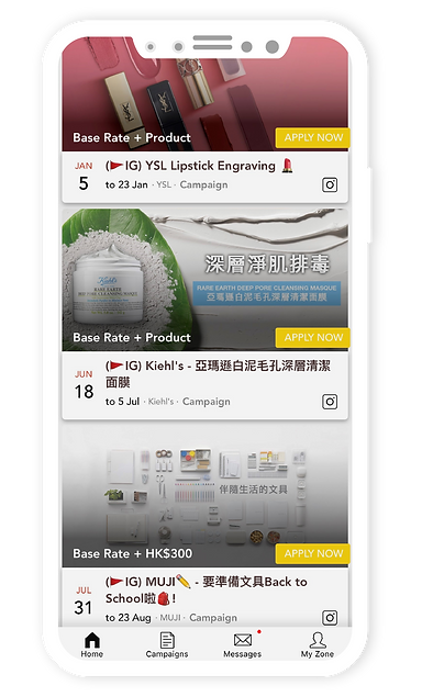 mobile app HK influencer KOL marketing agency