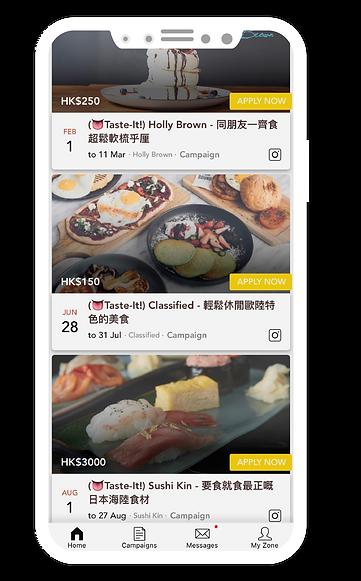 Foodie app HK influencer KOL marketing agency