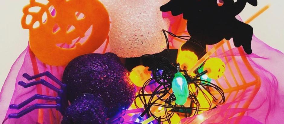 Simple Half term Halloween ideas