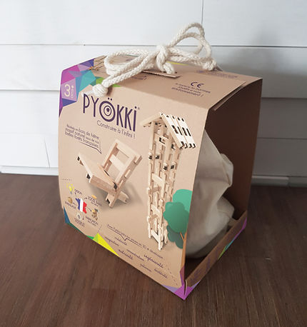 Ça envoie du bois - Pyokki - packaging