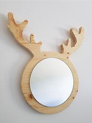 Ça envoie du bois - miroir reine