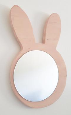Ça envoie du bois - miroir lapin