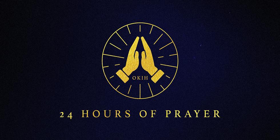 24 Hours of Prayer - #HopeAtHome