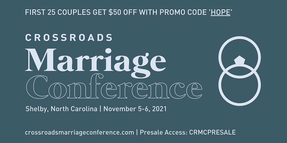Crossroads Marriage Conference