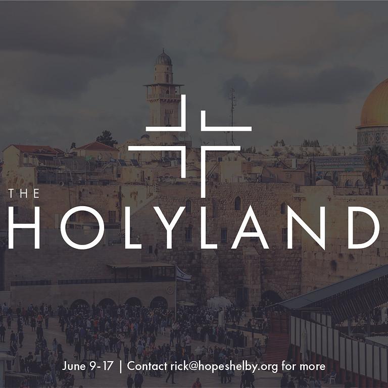 Holy Land Trip