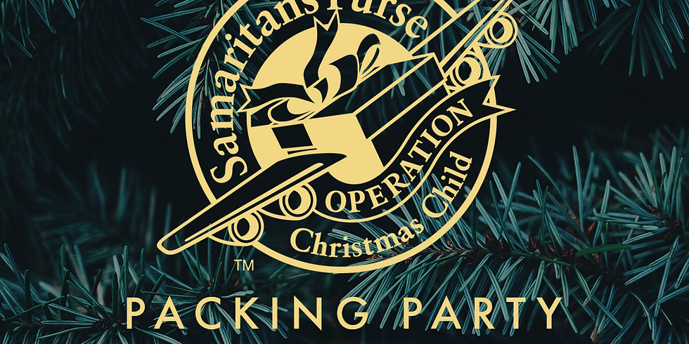 Operation Christmas Child Packing Party