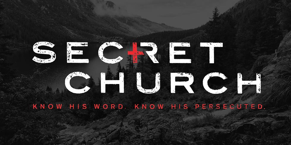 Secret Church Meeting