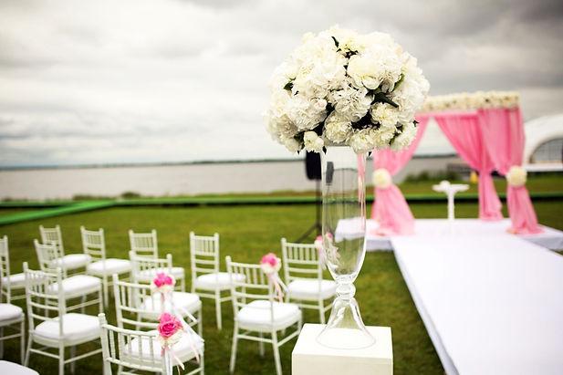 Свадебная композиция на выездной регистрации свадьбы,Свадебный организатор Ксения Стан, свадебное агентство Wedding Production