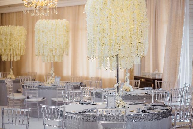 высокие свадебные композиции Тюмень