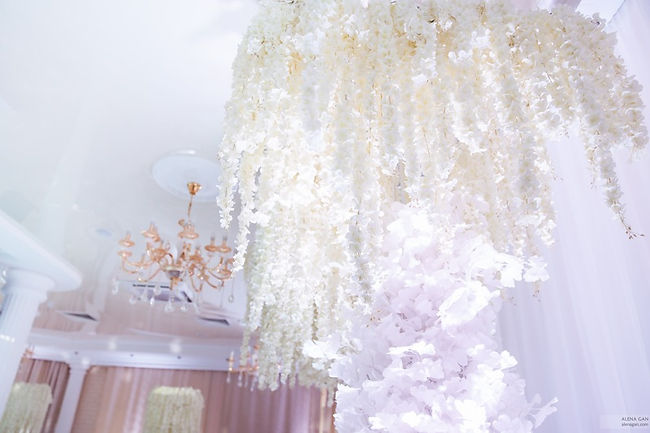 декор на свадьбу от свадебного агентства