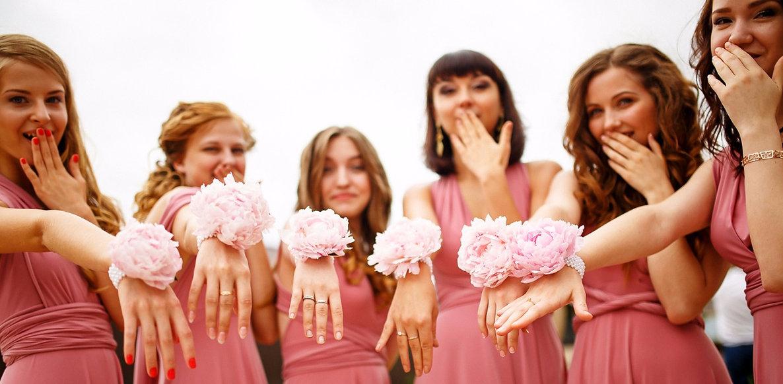 Подружки невесты,фото свадьбы,Свадебное агентство Wedding Production Тюмень, свадебный организатор Ксения Стан