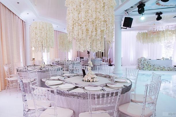 шикарный декор для свадьбы Тюмень