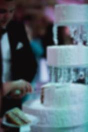 высокий красивый торт на свадьбу
