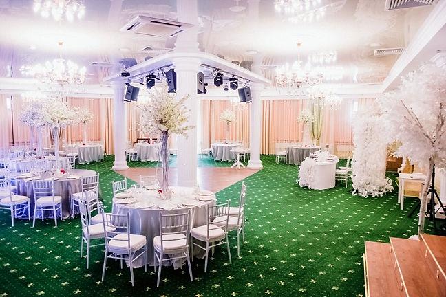 декор на свадьбу Тюмень, высокие свадебный композиции