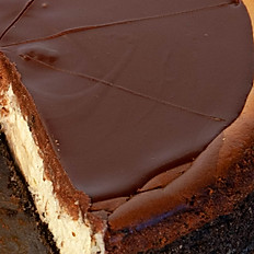 Chocolate Layered Cheesecake