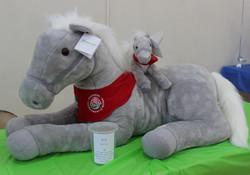 Stuffed horse animal