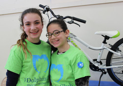 DC girls with bike