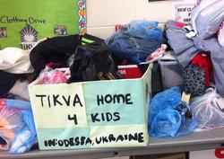 Tikva Odessa clothing drive.JPG