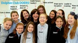 Girls with Leeba group photo screenshot DC Doers.png