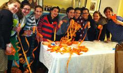 Girls w orange tickets