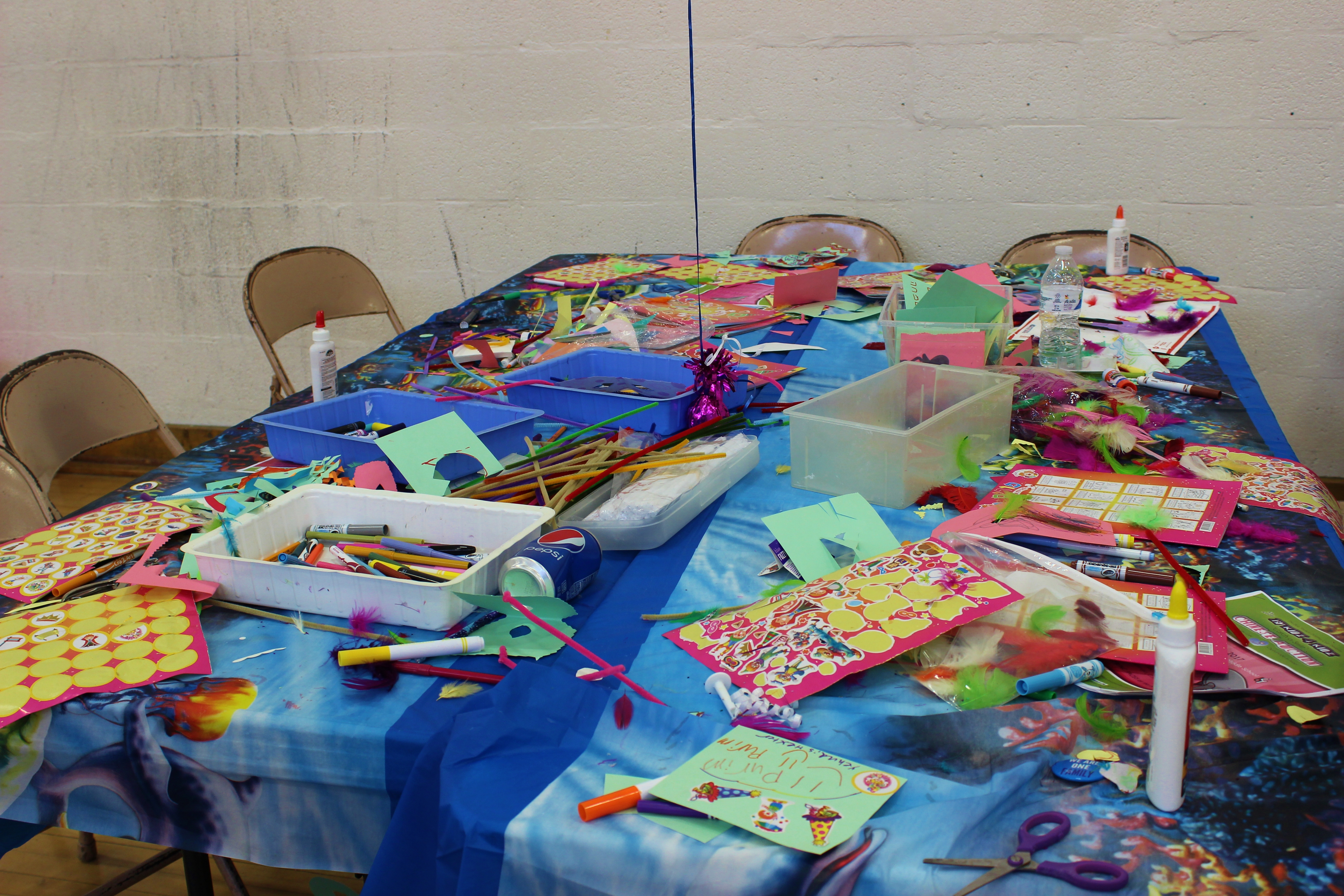Crafts table