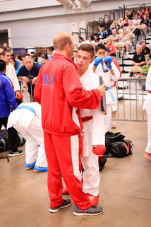Coaching at Nationals