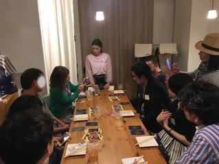 【レポート】2018.4.26UENO恋活BAR 思ってたのと違う?!タロット占いパーティー3