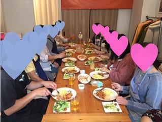 【レポート】11.18sun 美味しい!楽しい!料理コンパーティー大盛況開催!